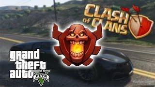 Lets Play GTA 5 PC online deutsch + Champion bei Clash of Clans