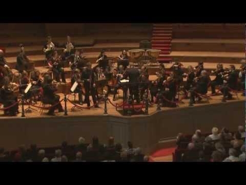 Mozart: Clarinet Concerto / Andreas Sundén, 1 movement - Allegro. Royal Concertgebouw Orchestra