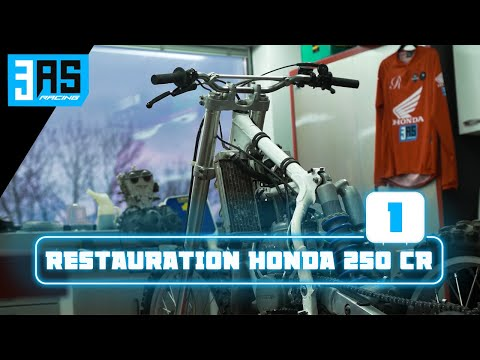 Démontage - Restauration Moto Cross HONDA 250 CR 1994 Replica McGrath EP-1