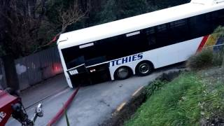 Stuck Bus on Buccleugh (Full Video)