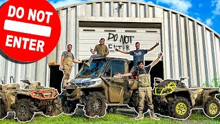 EXPLORING ABANDONED RANCH on Four Wheelers! *ABSOLUTELY INSANE*