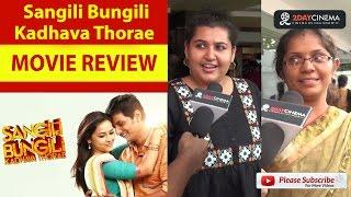 Sangili Bungili Kadhava Thorae | Jiiva | SriDivya - 2DAYCINEMA.COM
