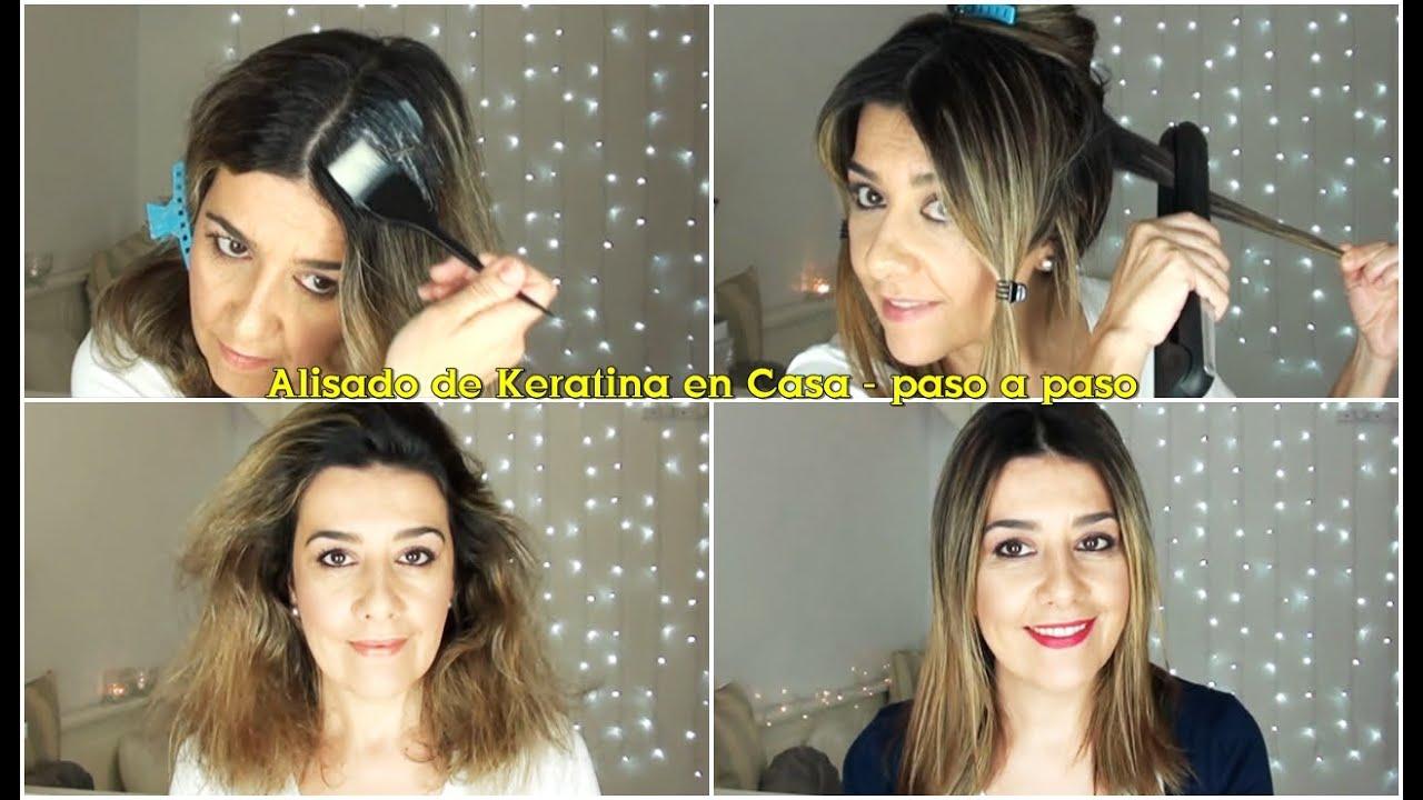 Alisado de keratina en casa kativa youtube - Alisado en casa ...