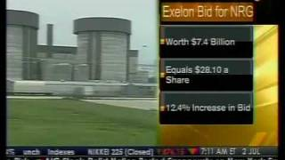 Exelon Boosts Bid For NRG - Bloomberg