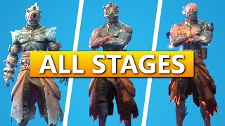 Fortnite Battle Royale - All Stage Key Locations (Prisoner Skin Upgrades)
