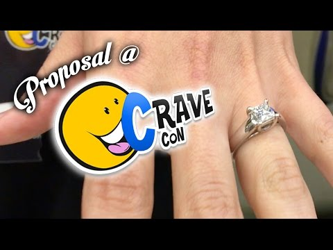 JP Proposes at CraveCon *VOMIT ALERT*