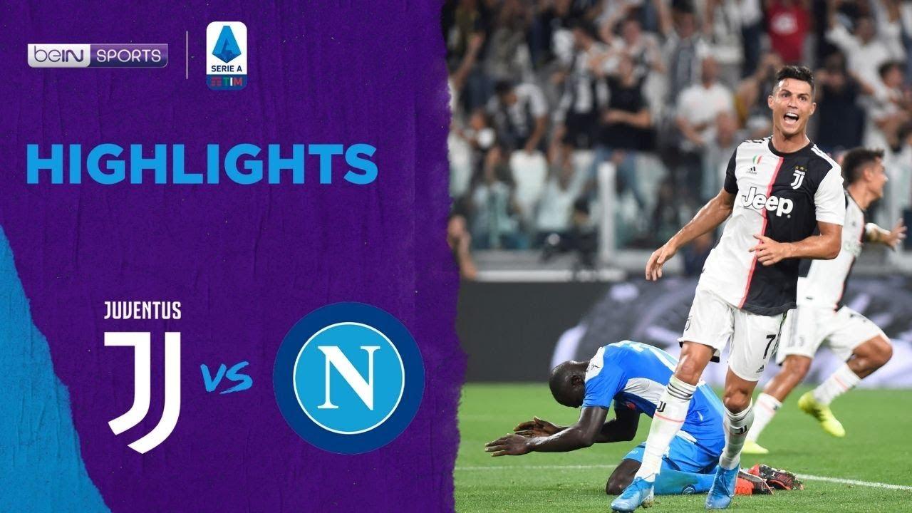 ยูเวนตุส 4-3 นาโปลี   ไฮไลต์ฟุตบอล Serie A 19/20