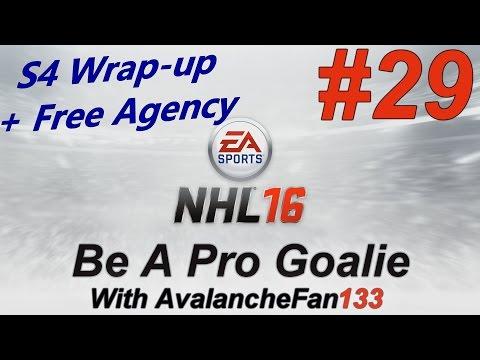 NHL 16 – Be A Pro – Goalie – Episode 29: Offseason Free Agency