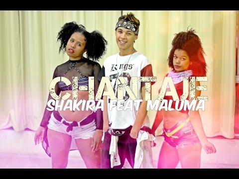 Shakira Feat Maluma - Chantaje Thi   Dance