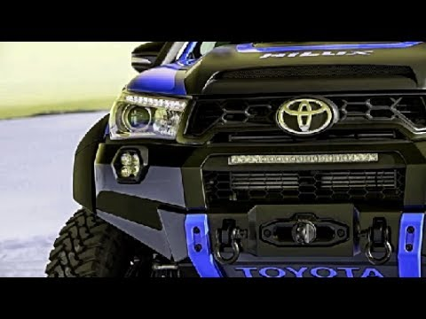New 2017-2018 Toyota Hilux Tonka Top Concept (eps5)