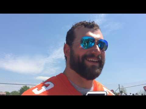 Browns left tackle Joe Thomas on Myles Garrett