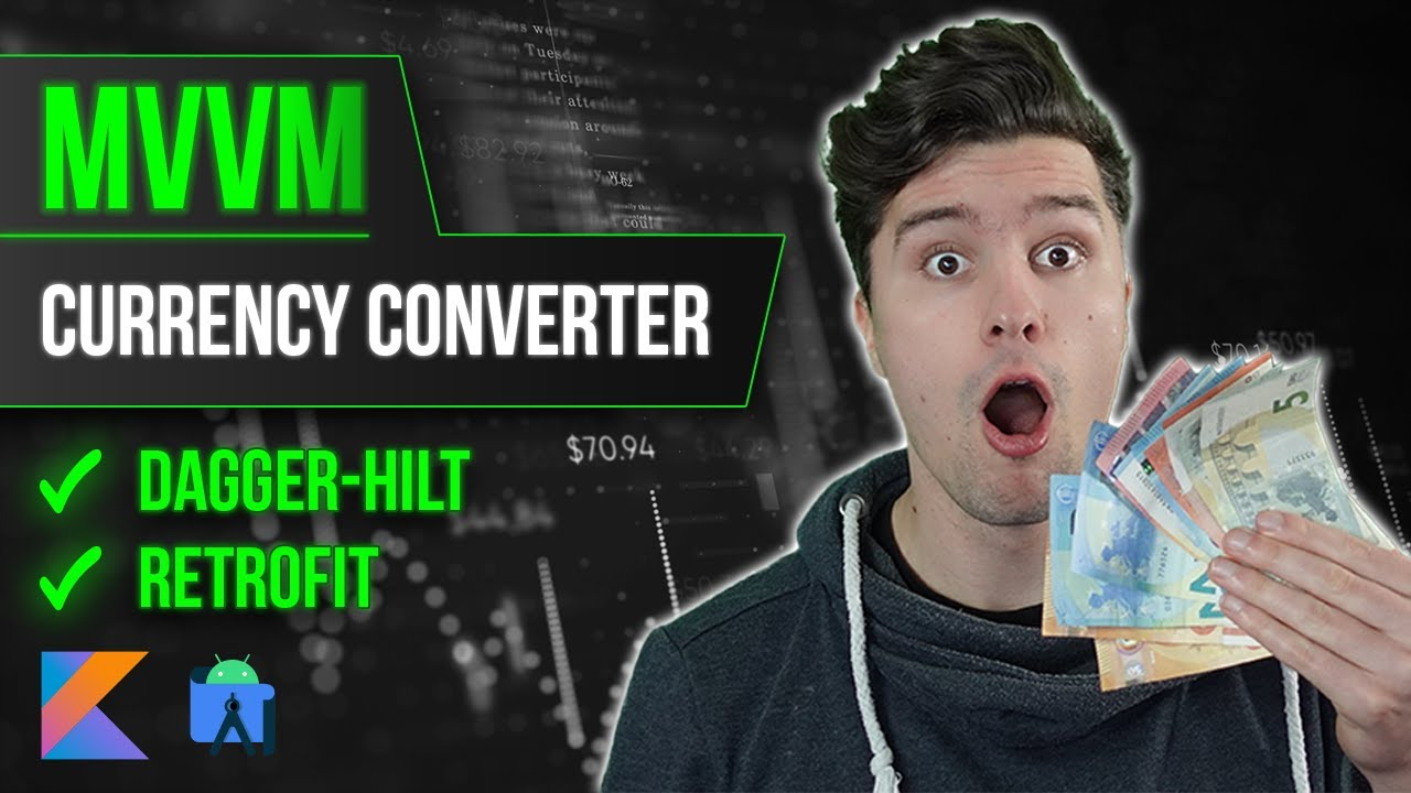 Making a Currency Converter App with MVVM from Scratch - Full Android Studio Course