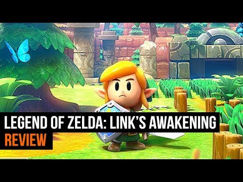 Legend Of Zelda Link S Awakening Review Youtube