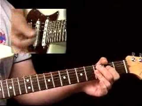 Rhythm Guitar Lessons - Blues Pattern #1 - Rhythmology