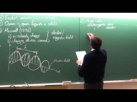 Lecture 39 (2014). Thermal radiation 1 of 7