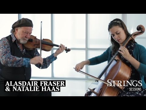 Strings Sessions: Alasdair Fraser & Natalie Haas Perform Scottish Fiddle and Cello Duets