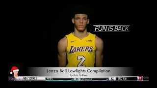 Lonzo Ball Top Lowlights from 2017 NBA season