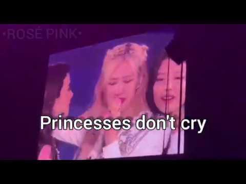 BLACKPINK| princesses don't cry| fmv