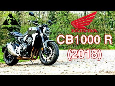 Honda CB1000 R 2018 İlk İzlenim, İlk sürüş, Motovlog