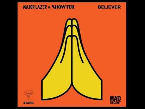 Major Lazer & Showtek-Believer (1 hour loop)