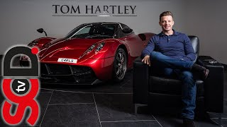 Carl Hartley and his new PAGANI HUAYRA | Supercar Driver