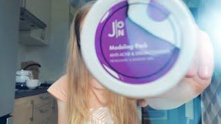 Видеоотзыв Корейская альгинатная маска для лица бренда J ON