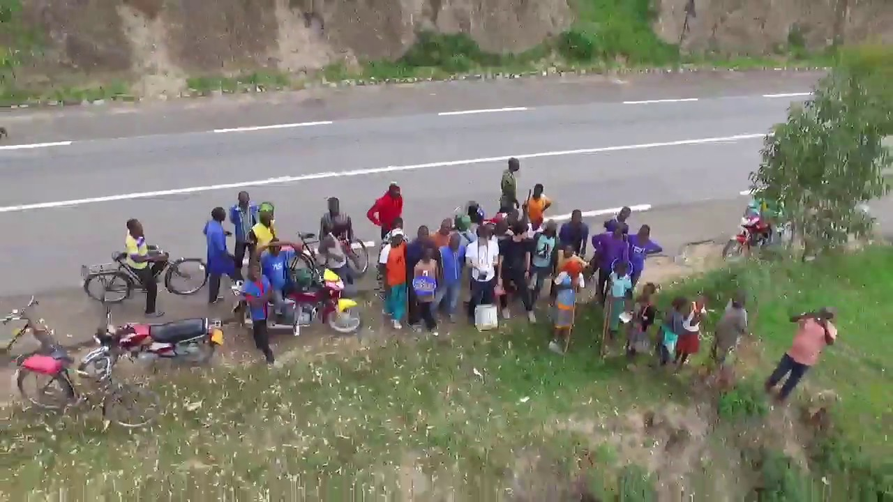 Drone Travel in Rwanda