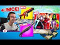 Nick Eh 30's FIRST REACTION to Fortnite Season 4! Chapter 2
