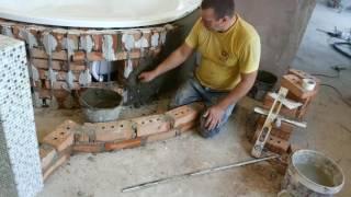 Экран акриловой ванны из кирпича. Часть 1.(Быстрый, легкий и понятный способ не требующий какой либо строительной практики., 2016-10-20T11:28:37.000Z)
