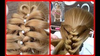 KALEMLE KOLAY ÖRGÜ MODELİ!Easy Hair Braid With Pencil#Saç Örgüsü#Kolay Örgü