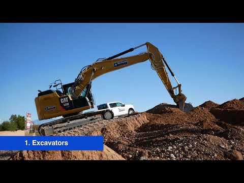 6 Types of Heavy Equipment