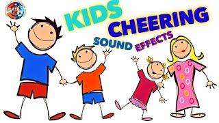 Kids Cheering Sound Effect / Children Cheer Sound Effect / Happy Yay Cheering Sounds / Royalty Free