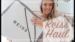 DREAMY AUTUMN OUTFIT UNBOXING 🍂  REISS Haul & Try On 🍂 Fashion Mumblr