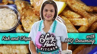 [Judy Ann's Kitchen 16] Ep 2: Fish and Chips with BBQ Seasoning