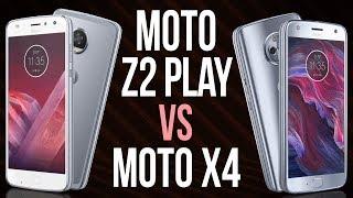 Moto Z2 Play vs Moto X4 (Comparativo em 3 minutos)