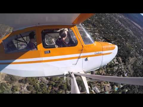 Flight in the Citabria