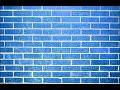 A Blue wall