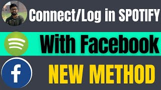 How to Log in spotify using facebook - connect spotify to facebook