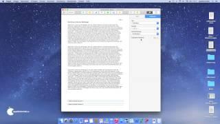 iWork Pages - Fußnoten und Endnoten in Dokument einfügn