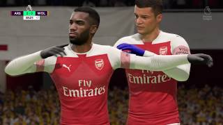 Arsenal vs Wolves On FIFA 19 - Match Prediction - Premier League Match Week 12