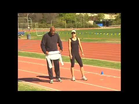 Coaching the Long Jump - Sled Drill