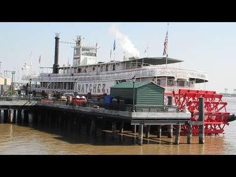 New Orleans - Mississippi river trip on The Natchez