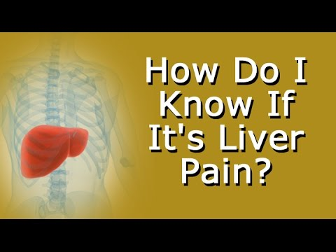 How Do I Know If Its Liver Pain Youtube