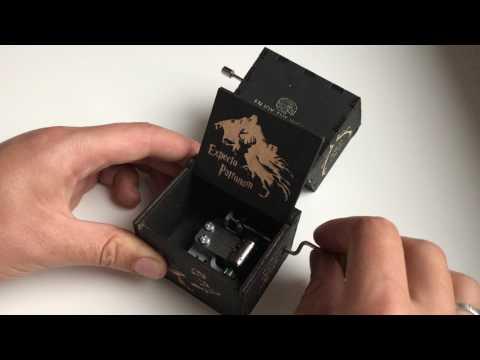 Music box Harry Potter by EnjoyTheWood
