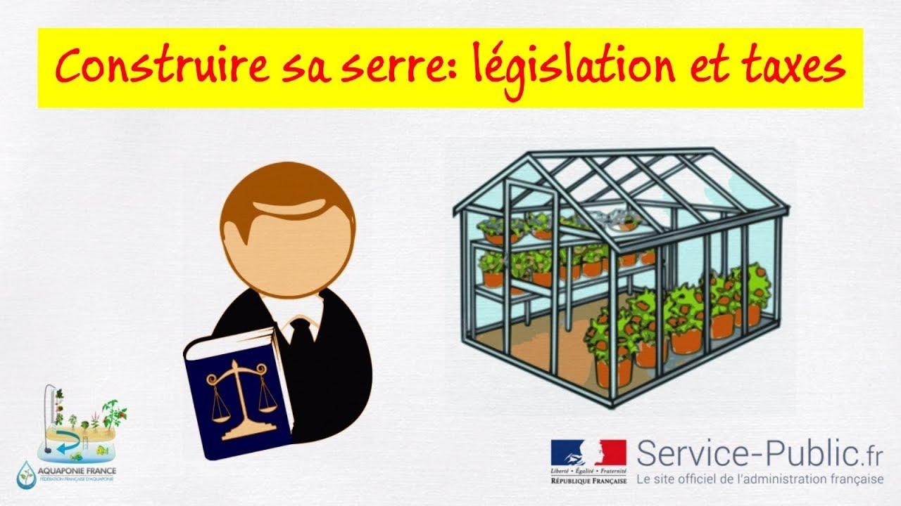 🏡 Construire une serre: législation et taxes