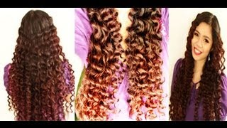 No heat Straw curls 2 method- Heatless Taylor Swift Inspired Curls to Relaxed Waves