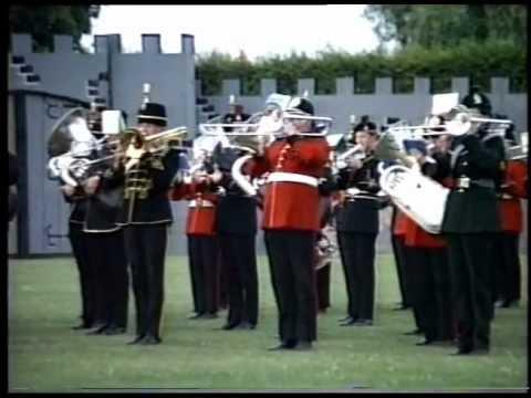 Britische Musikparade Minden Weserstadion 1986