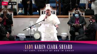 Lady Karen Clark Sheard    There is no other way    Lady Hankerson Homegoing Celebration 2021