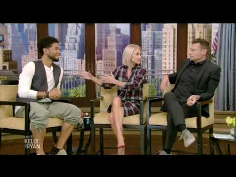 Jussie Smollett - entire interview 2017 part1 /Jamal Lyon - (EMPIRE) - live with kelly and ryan 2017