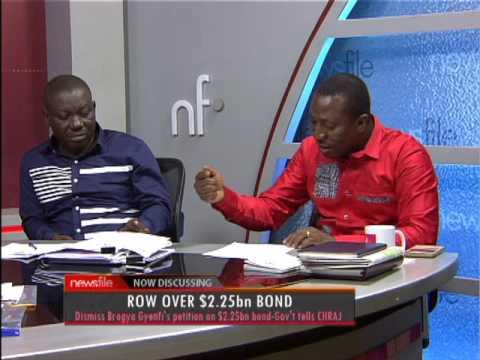 Row Over $2.25bn Bond PT2 - Newsfile on JoyNews (10-6-17)
